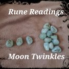 Predictive reading. Tell me when to moon is right. Rune Reading