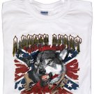 Mens Wolf T-Shirt - Sz XL