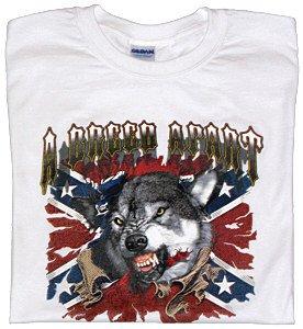 Mens Wolf T-Shirt - Sz XL