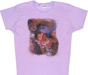 Womans Safari T-Shirt - Sz Lrg