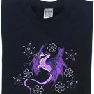 Embroidered Crystal Dragon Sweatshirt -Sz Lrg