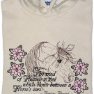 Embroidered Arabian Horse Sweatshirt -Sz M or L