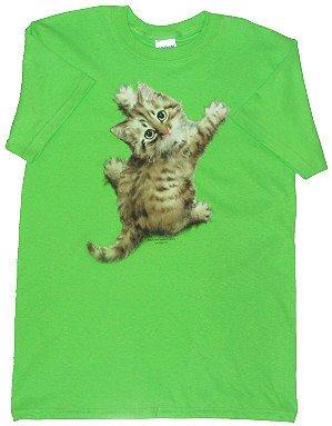 Women's Kitty T-Shirt - Sz Sm