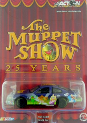 Dodge Intrepid the Muppet Show 25 Years 1 64 Scale Diecast Stock Car
