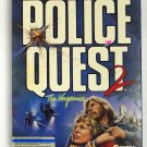 1988 Sierra On-line Police Quest 2 Retro Video Game for DOS BOX 3.5 5.25 Disks