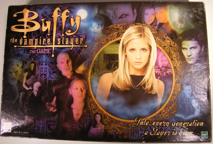 Buffy the Vampire Slayer Board Game Angel Whedon Used