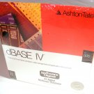 Ashton Tate dBase IV for DOS Version 1.1 New Sealed 5.25 Disks
