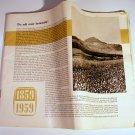 Vintage Marklin 1959 Catalog 100th Year Anniversary English Cover Missing