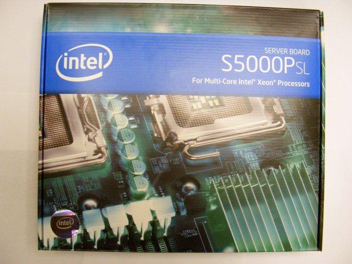 NEW Intel S5000PSL Server Board S5000PSLSATAR LGA771