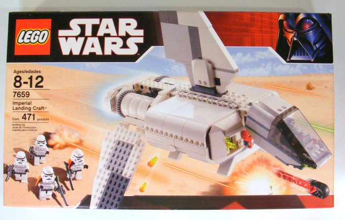NEW Lego Star Wars Imperial Landing Craft 7659 with 5 Minifigs Stormtroopers