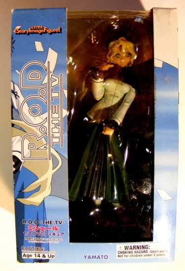 "Read Or Die the TV: Michelle PVC 7"" Statue R.O.D Yamato"