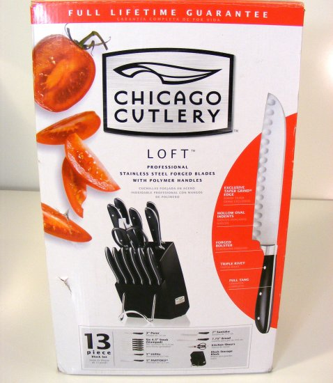 Chicago Cutlery Loft 13 PCS Professional Knife Set New in Box