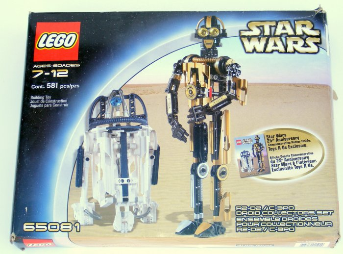 Lego Star Wars 65081 with R2-D2 and C3PO Model RARE! 8007 8009 Used - Save