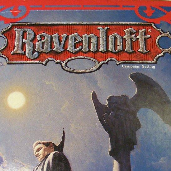 Ravenloft Campaign Setting Forbidden Lore AD&D 2nd Edition Box Set Plus Extras TSR