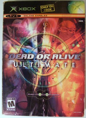 Dead or Alive Ultimate Collectors Edition for XBox Used