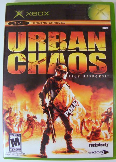 Urban Chaos for XBox Used