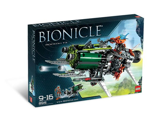 Lego Bionicle 2008 Rockoh T3 390PCS Set 8941 New NIB BNIB