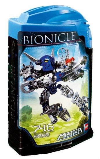 Lego Bionicle 2008 Toa Gali Mistika Set 8688 New NIB BNIB