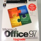 Microsoft Office 97 Standard Upgrade CD-ROM with Box