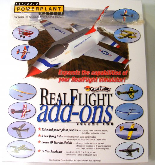 Great Planes RealFlight G3 Add-ons Volume 2 Two GPMZ4102