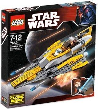 NEW Lego Star Wars Anakins Jedi Starfighter 7669