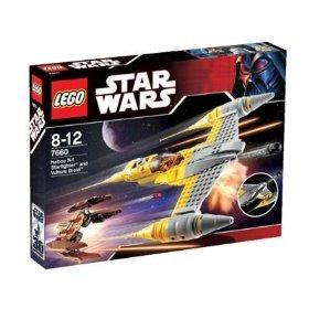 NEW Lego 7660 Naboo N-1 Starfighter with Vulture Droid 2007