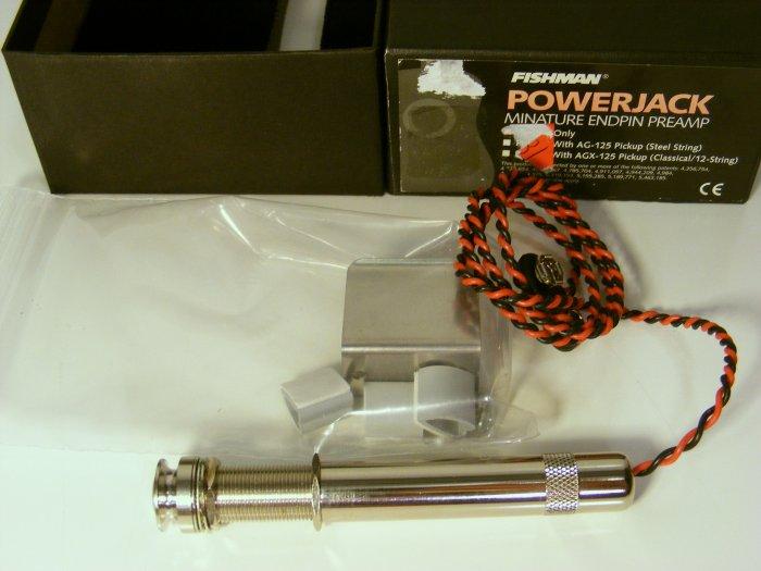 Fishman Powerjack Miniature Endpin Preamp New in Box