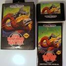 Sega Genesis Game Bio Hazard Battle Complete Rare