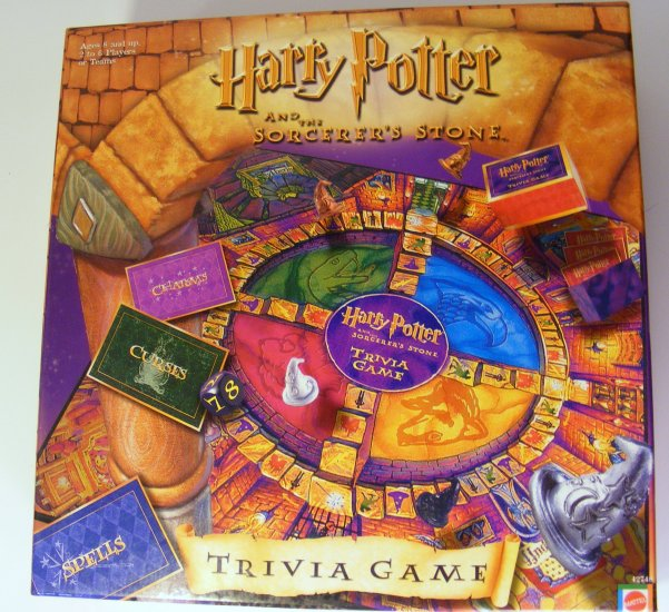 Harry Potter Sorcerer's Stone Trivia Game  Sealed BBBF20