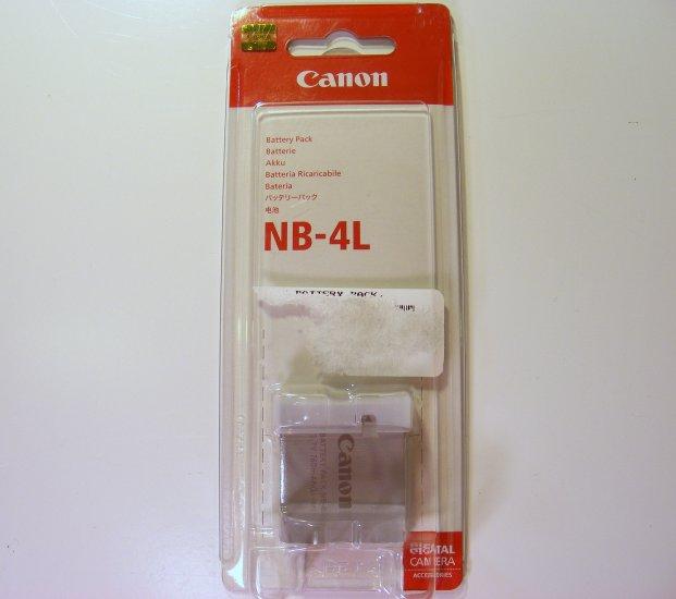 Canon NB-4L Battery Pack Li-Ion 760mAh for PowerShot SD450 TX1 New