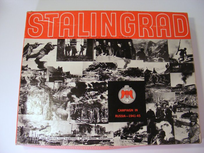 Avalon Hill Stalingrad Campaign Russia 1941-45 Board Game Large Box