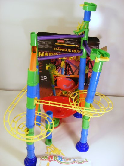 Quercetti Marble Run Vortis made in Italy Used - no marbles