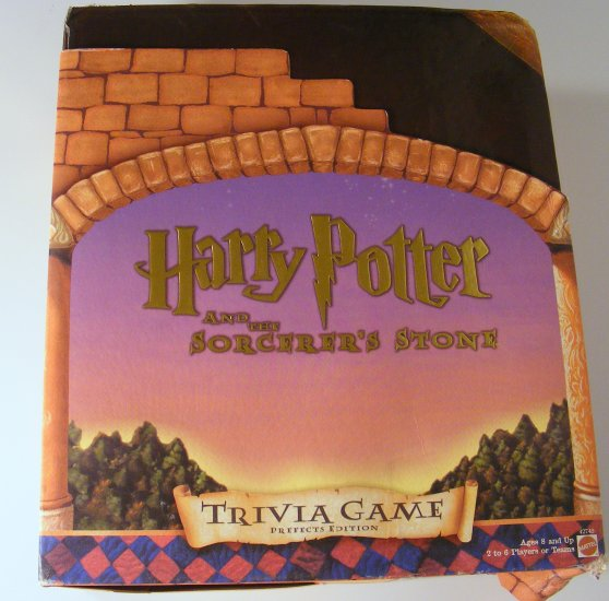 Prefects Edition Harry Potter Sorcerer's Stone Trivia Game Complete