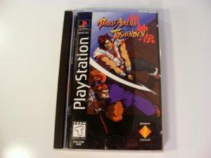 Battle Arena Toshinden Long Box Rare PS1 Playstation
