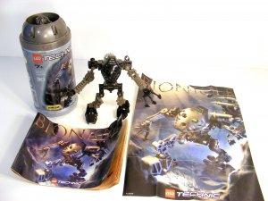 RETIRED  Dark Grey TOA ONUA LEGO TECHNIC BIONICLE 8532 Rare Poster! 2001 B57