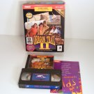 Oregon Trail II PC MAC GAME Box with West To Oregon VHS Tape by MECC