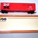 Tyco NH New Haven Plug Door Box Car in Box 35688 Model RR Train