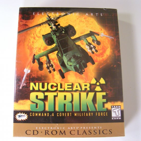 Nuclear Strike PC Game EA Games Sealed with Box