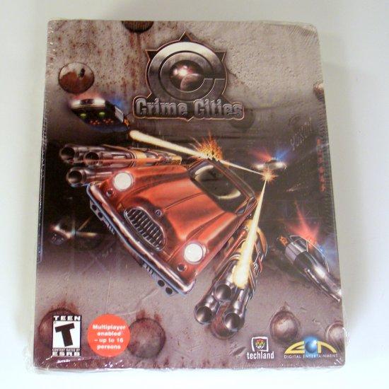 Crime Cities Adventure PC GAME Sealed Original Box Boxed 3.5 Disc