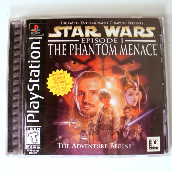 Star Wars Episode I Phantom Menace for PS1 Playstation Used