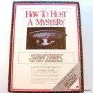Star Trek How to Host a Mystery 1992 NIB
