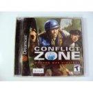 Sega Dreamcast Conflict Zone Modern War Strategy Complete