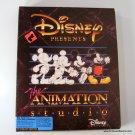 Disney Presents The Animation Studio MS-DOS Windows Complete Vintage
