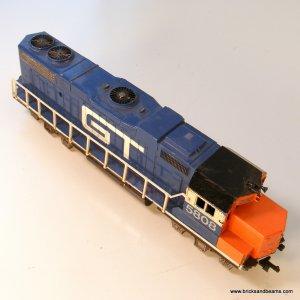 Life-Like GT 5808  Large Diesel Locomotive Model RR Train B64