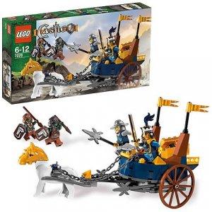 NEW Lego Castle 7078 King's Battle Chariot NIB Sealed Trolls Horse Treasure