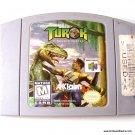 Nintendo 64 N64 Turok Dinosaur Hunter Game Cartridge