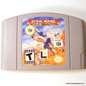 Nintendo 64 N64 Star Wars Rogue Squadron Game Cartridge