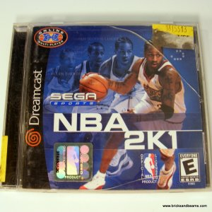 Sega Dreamcast Sega Sports NBA 2K1 Complete