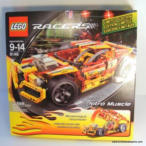 LEGO 8146 Racers Nitro Muscle Brand New