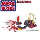 MegaBloks Mega Bloks 96113 Gawain Dragon Duel King Arthur New